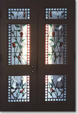 Leaded Stained Glass. Stained Glass Design